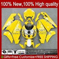 Motorradkörper für Ducati 749s 999s 749 999 749-999 03 04 05 06 Karossergebnisse 27.61 749 999 S R 2003-2006 Cowling Light Gelb 749R 999R 2003 2004 2005 2006 OEM Fairing Kit