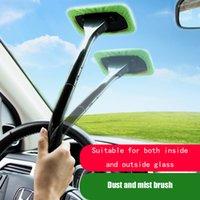 Обеспеченная щетка для очистителей автомобиля Kit Kit Setsshield Wiper Microfiber стеклоочиститель очиститель чистящий кисть автоматическая очистка моют инструмент с длинной ручкой