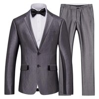 Men's Suits & Blazers 2021 Fashion Clothes Handsome Smart Casual Wedding Suit Plaid Blazer Mens Designe