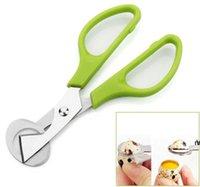 Taube Wachtel Eierschere Vogelschneider Opener Egg Slicers Küche Hausfrau Werkzeug Clipper Zubehör Gadgets Convenience DHC7649