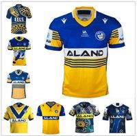 2021 Parramatta enguias Rugby jerseys 19 Francês Alvaro Gower Evans Pritchardniukore Terepo Marrom Mannah Moeroa Norman Hoffman Camisas