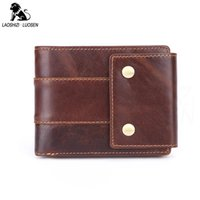 Wallets Men Standard Genuine Leather Short Coin Purse Fashion Hasp Wallet For Male Portomonee With Card Holder Po