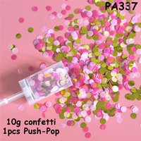 Paper Pushing Confetti Wedding Party Decoration Paper Push Tube Sharking Paper Decoration DIY Push-Pop Supplies CCF6978