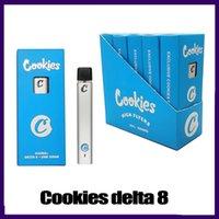 Cookies Delta 8 Vape Stift Einweg Elektronische Zigaretten Pod Gerät Leere Hülsen 1ml Kapazität mit 280mAh Akku 0268267