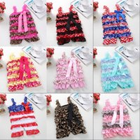 Baby Jumpsuit Infant Summer Lace Sling Jumpsuits Toddler Rompers Kids Designer Clothing Photography Props 1474 B3