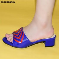 Dress Shoes High Quality African Wedding Fashion Spring Summer Mixed Colors Sweet Style For Royal Party Slingbacks Sandals