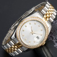 MONTRE De Luxe мужского автоматических золотые часы женщины одевают полную нержавеющей сталь Sapphire водонепроницаемых Светящиеся Пары Стиль Классические Наручные часы