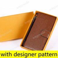 L Casos de telefone da carteira do desenhador de moda para iphone 12 11 pro máximo xs xr xsmax 7 8 mais alta qualidade padrão em relevo cartão de couro bolso capa de celular