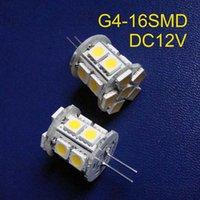 Ampoules haute qualité DC12V G4 LED Crystal Lights Light décoratif 12VDC Ampoule GU4 20PCS / Lot