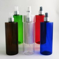 Storage Bottles & Jars High Quality 12 X 500ml Large PET Empty Plastic Refillable Colorful Perfume Bottle With Sprayer Packing Cosmetic Cont