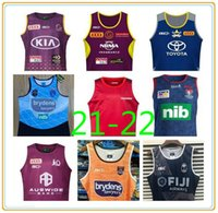 Cowboys Wests Australia Melbourne Tigres Brisbane Broncos Maroons Rugby Jerseys 20/21 South Wales Blues Estado Fiji Knight Eels Chaleco Jersey