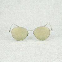 2021 Lunettes de soleil ovales Vintage Hommes Clair Cadre de viande Lecture Retro Sun Lunettes Oculos Shades Lunettes de protection pour la conduite de l'été