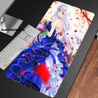 Fare Pedleri Bilek Dinlenmek Pinktortoise Anime Belfast Azur Lane Mousepad HD Baskı Bilgisayar Kilitleme Kilidi Kenar Pad Klavye PC Danışma CSGO
