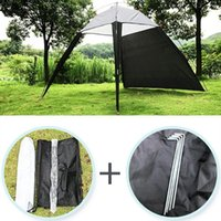 Portable 5-8 Person Pergola Windproof Outdoor Tent Summer UV Tarp Sun Shade Camping Fishing Triangle Beach Cabana Tent Canopy