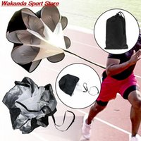 Resistance Bands Training Speed Parachute Football Soccer Exercise Gym Strength Running Drag Sport Professional Umbrella