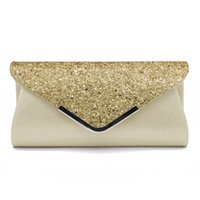 Evening Bags Women Clutch Bag Female Crystal Day Wedding Purse Party Banquet Black Gold Silver Clutches Sequin Shoulder