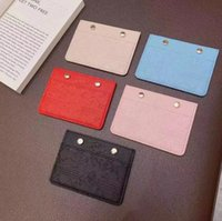 Classic Embossed Letter Card Holders Luxury Designer Ultra-thin Multi-card Coin Purses Business Casual Men's Short Clutch Bags Women Purse Brand Design Wallets