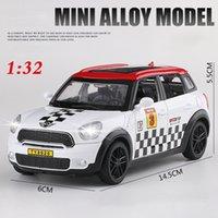 132 Oyuncak Araba Mini Countryman Diecast Alaşım Metal Araba Modeli Mini Coopers Modeli için Araba Çekin Araba Oyuncak Araçlar Minyatür Ölçek