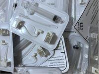25D 3In1 consumibles Tubo Jeringa Vanadio Cartucho de aguja de cristal de titanio para la pistola de restauración facial estética Dispositivo de inyección de alta presión