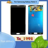 "Panneaux tactiles de téléphone portable 5.7 ""Super original Digitzer pour Samsung Galaxy Note 4 N910P N910A N910F N910V N910T LCD"
