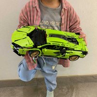 1254pcs Technical MOC Vehicle Speed Car Building Blocks Simulation Super Sports RC Model Bricks Toys Gifts Q0624
