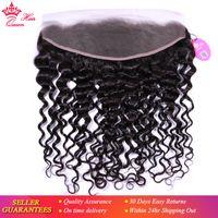 여왕 머리 제품 브라질 버진 인간의 머리카락 귀에 귀 레이스 정면 확장 10inch에서 20 인치까지 10inch