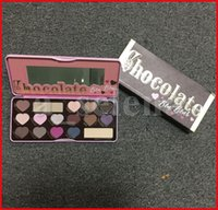 Yüz Göz Makyajı Çikolata Göz Farı Paleti 16 Renkler Mat Pırıltılı Tatlı Gölge Paletleri