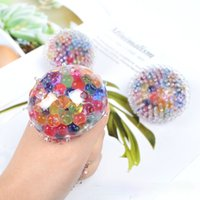 TPR pinch colorful grape ball stress reliever squeeze balls decompression kids funny gift