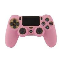 Soft Silicone Case for PS4 / Slim Controller مرنة جل المطاط الجلد gamepad غطاء واقي لسوني بلاي ستيشن 4 لعبة التبعي