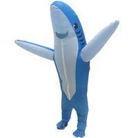 마스코트 costumesnew 풍선 상어 의상을 입은 성인 폭발 여성 남성에 대 한 마스코트 할로윈 의상을 입은 남자 만화 멋진 dressmascot 인형 Cos