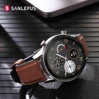 2021 SANLEPUS ECG Smart Watch Dial Call Smartwatch Men Sport Fitness Bracelet Clock Watches For Android Apple Xiaomi
