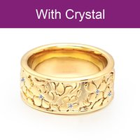 VAROLE Flowers Rings For Women With Crystal Gold Color Cute Midi Ring Anniversary Gift Fashion Jewelry Anillos Mujer