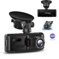 3.16 Inch Car DVR 1080P HD Dash Cam Dual Lens Camera 170 Wide Angle Video Cycle Recording Vehicle P316