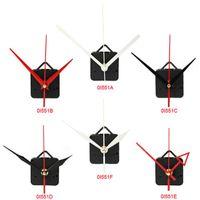 Wall Clocks 1 Set Silent Large Clock Quartz Movement Mechanism Diy Repair Parts+hands Watch