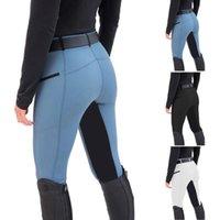 Women's Pants & Capris Women Autumn Pant High Waist Elastic Breeches Horse Riding Equestrian Racing Skinny Trousers Pantalon Pour Femme