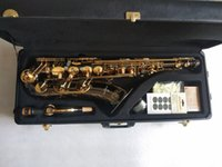 Siyah Altın Tenor Yanagisawa T-992 B Daxophone B Daire Tuney Müzik Aletleri Profesyonel Performans Hediye