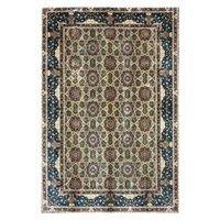 Tapis 6.56x9.84 pieds Géométrie Floral Design Handmade Silk Persian Tapis Accueil Décor Tapis de salon
