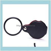 Inne optyka Optyczna analiza pomiaru Instrumenty Office School Business IndustridAnal Mini Czarny 50mm 10x Hold-Hold Magn