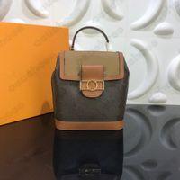 역 모노그램 Dauphine 배낭 PM M45142 디자이너 Womens 클래식 Dauphine 탑 핸들 가방 Onthego 배낭 크로스 바디 핸드백 지갑 지갑