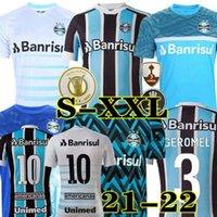 2021 2022 Gremio Soccer Jerseys Luan Tramontina D.Costa Accueil 3ème Hommes Femmes Enfants Formation 20 21 22 Chemise de football