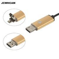 Mini-Kameras JCWhcam-PC USB-Endoskop Android-Kamera 8mm-Objektiv HD 720P IP67 wasserdichtes Rohr-Boreskop Endoskoop Schlangenrohrinspektion