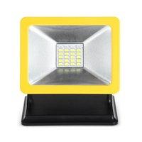 Floodlights 15W luce portatile portatile LED luce di lavoro con base magnetica spoondi impermeabile proiettori da caccia all'aperto