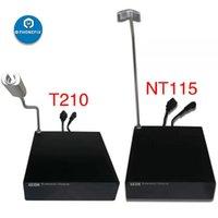 وحدة التمديد مع حامل T210 / NP115 ل JBC 2SHE / NP115-A محطة توسيع مزدوجة لحام مجموعة أدوات الطاقة قاعدة موسعة
