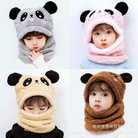 100pcs Big Sale Girls Animals Ear Moving Jumping Hats Children Warm Plush Rabbit Winter Caps Cute Bunny Fuzzy Funny Hats