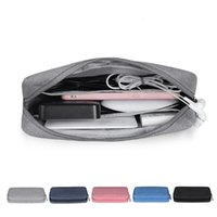 Storage Bags SKTN Digital Accessories Bag Portable Waterproof USB Cable Earphone Charge Pal Organizer Makeup Travel Pouch