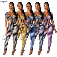 Women's Jumpsuits & Rompers Summer 2021 Plus Size Bodycon Womens Body Woman Jumpsuite Overalls Evening Bodysuit Sexy Streetwear SMR9312