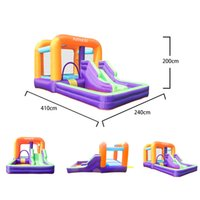 Outdoor Combo Park Garden Supplie Inflatable Bounce Castle Toddler Bounces House with Blower Bouncy Houses for Kids Party Play Wholesale