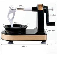 Manuel meyve Soyucu Makinesi Yaratıcı Ev Mutfak Apple Soyulmuş Aracı Peeling Dilimleme Kesici EWD5778