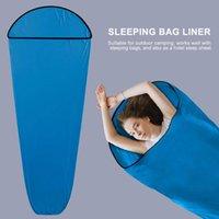 Sacos de dormir Saco de alta elasticidade Saco portátil para acampar viagens juventude albergues planos de piquenique treina ferramentas de caminhada