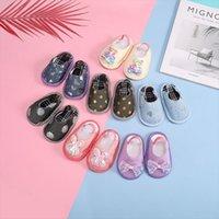 Primeiros caminhantes [Simfamily] Chinelos de bebê nascidos sapatos menino menina criança criança bebê calçado algodão macio antiderrapante sola